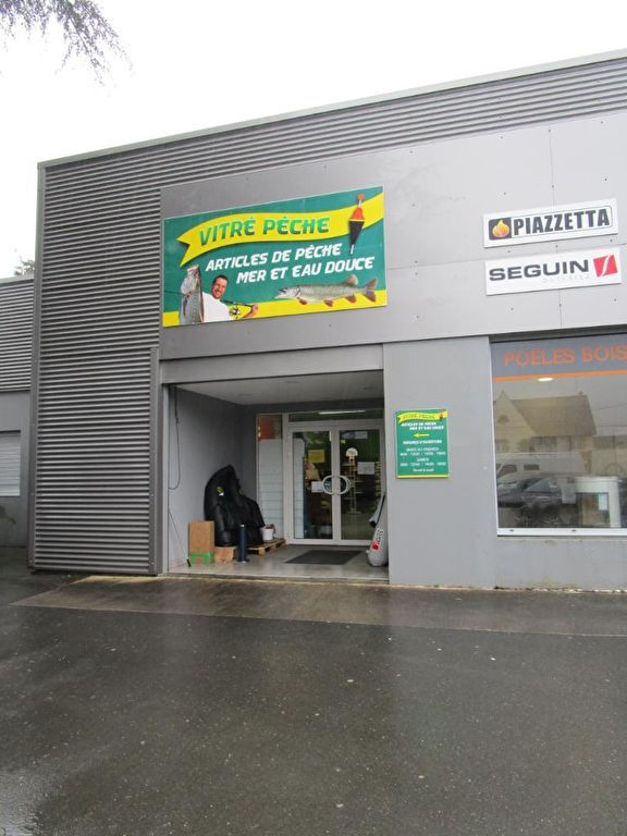 VITRE - LOCAL COMMERCIAL  - SURFACE DE VENTE 117 M²